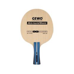 Gewo Tischtennisschläger GEWO Holz ALLround Basic Griffform-gerade