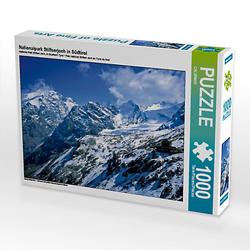 Nationalpark Stilfserjoch in Südtirol Lege-Größe 64 x 48 cm Foto-Puzzle Puzzle