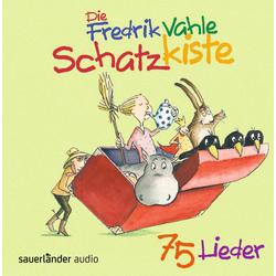 Die Fredrik Vahle Schatzkiste als Hörbuch CD von Fredrik Vahle