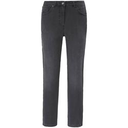 5-Pocket-Jeans NORMA mit Galonstreifen Basler dark grey denim