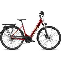 Breezer Powertrip Evo 1.5+ LS 700c E-Bike Damenrad 28 Zoll Pedelec Damen Senioren Elektrofahrrad... 55 cm, dunkelrot
