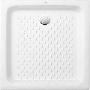 Villeroy & Boch Rechteck-Duschwanne O.Novo 70 cm x 70 cm x 10 cm Weiß Alpin