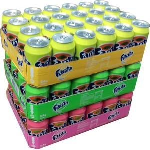 Fanta Lemon, Fanta Exotic & Fanta Peach je 24 x 0,33l Dose XXL-Paket (72 Dosen gesamt)