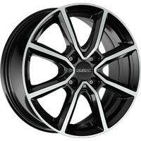 DEZENT TN DARK, 6.5x17 ET49 4X100 54,1, black polished