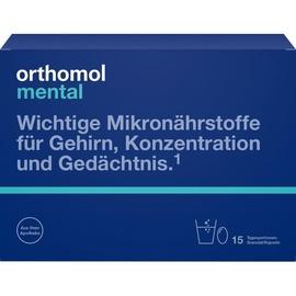 Orthomol Mental Granulat / Kapseln 15 St.