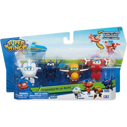 Super Wings 4er Transform Super Set