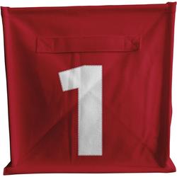 ACHOKA® Aufbewahrungsbox Aufbewahrungsbox Würfel - rot rot