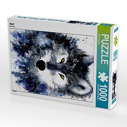 Wolf Lege-Größe 48 x 64 cm Foto-Puzzle Bild von Ruth Trinczek-Helten Puzzle