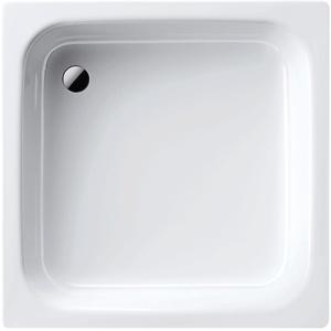 Kaldewei 01471 7 Stahl-Duschwanne Sanidusch, 80 x 80 x 14 cm, 80 x 80 cm