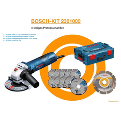 BOSCH Pümpel BOSCH SET Winkelschleifer GWS 7-125, 1x Diamanttre, L: 40 cm