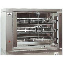 GGG Hähnchengrill 1098x480x820 mm 3 Spieße für 15-18 Hähnchen 99 kW