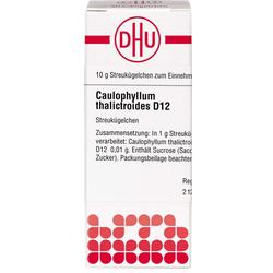 CAULOPHYLLUM THALICTROIDES D 12 Globuli 10 g