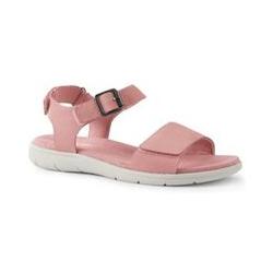 Leichte Komfort-Sandalen - 38.5 - Warme Röte