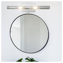 Esto Wandleuchte, LED 6 Watt Wand Strahler Beleuchtung Treppenhaus Flur Glas Schalter Leuchte Esto 780035