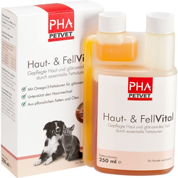 PHA Haut- und FellVital flüssig f.Hunde 250 ml