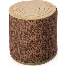 Käthe Kruse Sitzkissen Holzstamm