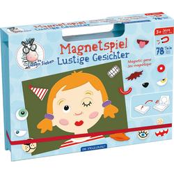 Spiegelburg Spiel, Magnetspiel Lustige Gesichter Die Lieben Sieben