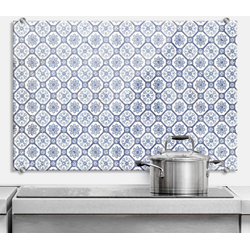 Wall-Art Küchenrückwand Spritzschutz Holland Kacheln, (1-tlg) 60 cm x 40 cm x 0,4 cm