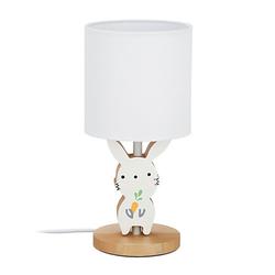 Hasen Nachttischlampe Kinder weiß