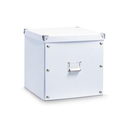 HTI-Living Aufbewahrungsbox Aufbewahrungsbox mit Deckel, Aufbewahrungsbox weiß