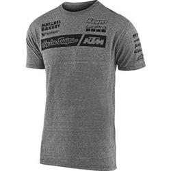 Troy Lee Designs KTM Team Pit T-Shirt grau XXL