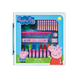 UNDERCOVER Malkoffer Peppa Pig, 36-tlg.