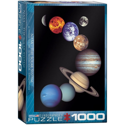 empireposter Puzzle Sonnensystem NASA Weltraumfotografie - 1000 Teile Puzzle im Format 68x48 cm, 1000 Puzzleteile