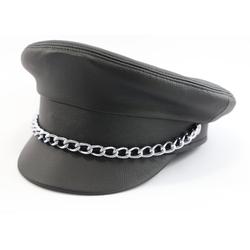 Leder SM Mütze Cap