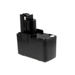 Powery Akku für Würth Bohrmaschine ASB 96-P2, 9,6V, NiMH