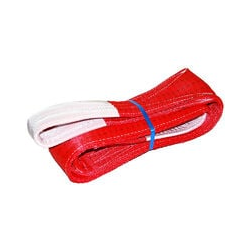 Hebeband, Gurtband Rot, 150mm x 3m, 5t