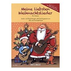 Meine Liebsten Weihnachtslieder für Gitarre - Buch