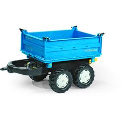 Rolly Toys Dreiseitenkipper rolly Mega Trailer blau