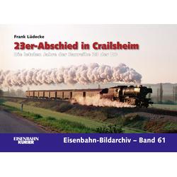 23er-Abschied in Crailsheim: Buch von Frank Lüdecke