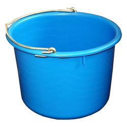 Bau-Eimer 12,0 l, Ø 32,0 cm, 'Profi', blau, Skalierung, leicht