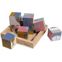 Kindsgut Holzwürfel-Puzzle Tiere