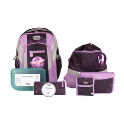 Schulrucksackset School Mood Loop Air Plus Stella (Einhorn) 7tlg.