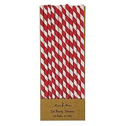 Red Striped, Trinkhalme