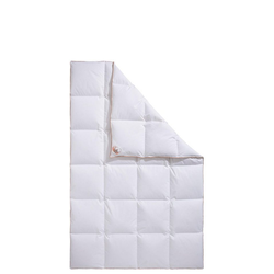Daunenbettdecke, Ella, RIBECO, Füllung: 90% Daunen & 10% Federn, Bezug: Baumwolle, Daunendecke zum Top-Preis! Decke, Bettdecke 200 cm x 220 cm