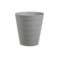 HTI-Living Papierkorb Abfalleimer 13,5 Liter Kunststoff grau