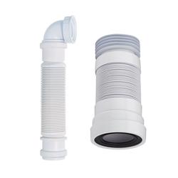 Siphon für Waschtischunterschränke und WC-Abflussrohr, von Hudson Reed