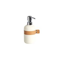 HTI-Living Seifenspender Seifenspender für Handseife weiß Ø 7.6 cm x 7.6 cm x 18.5 cm