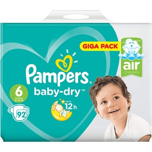 Pampers 81663655 Baby-Dry Pants windeln, weiß