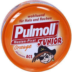 PULMOLL Junior Orange m.Vitamin ACE o.Z.Bonbons 50 g