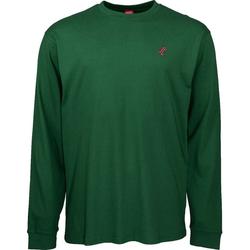 Tshirt SANTA CRUZ - Missing Dot L/S T-Shirt Evergreen (EVERGREEN)