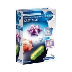 Clementoni® Lernspielzeug Galileo - Fluoreszierende Kristalle