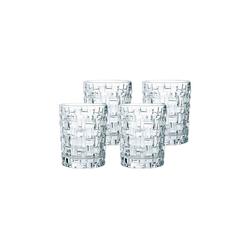 Nachtmann Whiskyglas Bossa Nova Whiskygläser 4er Set (4-tlg), Glas