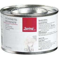Spring Fire Brennpaste, Paste speziell für Pastenbrenner, 200 g - Dose