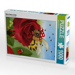Meine Biene Candy Lege-Größe 48 x 64 cm Foto-Puzzle Bild von Marion Krätschmer Puzzle