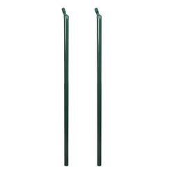 vidaXL Zaun vidaXL Zaunstreben 2 Stk, 115 cm