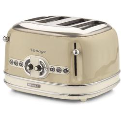 Ariete Toaster Vintage, 4 kurze Schlitze, für 4 Scheiben, 1600 W
